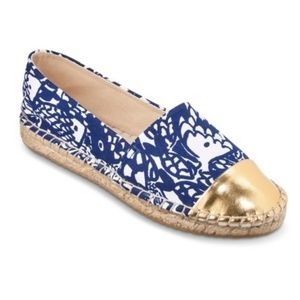 Lilly Pulitzer Upstream Espadrille Shoes Sz 9